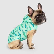 New listing New Dog Puppy Pick Me Alligator Print Green Poncho Rain Coat
