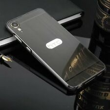 For HTC Desire 10 Lifestyle Shockproof Aluminum Metal +Brushed Back PC Case
