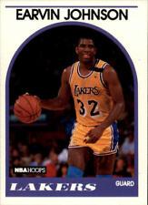 """Earvin """"Magic"""" Johnson #270 Hoops 1989/90 NBA Basketball Card"""