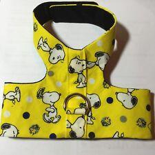 Snoopy Handmade Dog Harness Vest M (1308)