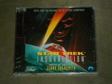 Star Trek: Insurrection Soundtrack Jerry Goldsmith sealed
