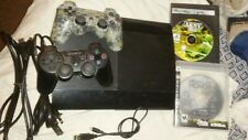 SONY PLAYSTATION PS3 SUPERSLIM CONSOLE GAME BUNDLE VIDEO GAME SYSTEM 465 GB