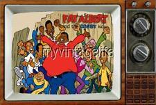 "FAT ALBERT & COSBY KIDS TV Fridge MAGNET  2"" x 3"" art SATURDAY MORNING CARTOONS"