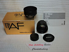 Nikon, AF- Nikkor 1,8/85mm AIS boxed in good condition