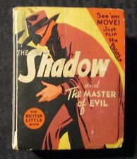 1941 THE SHADOW Master of Evil VG- 3.5 Whitman 1443 Big Little Book