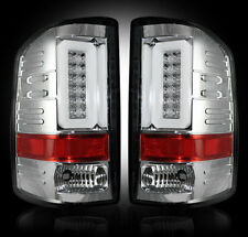 RECON Clear LED Tail Lights for 2014-2016 GMC Sierra 264239CL
