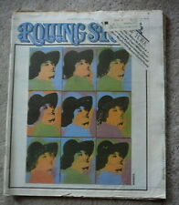 ROLLING STONE MAGAZINE - OCTOBER 6 1977 - #249 - ANDY WARHOL -  NEW YORK
