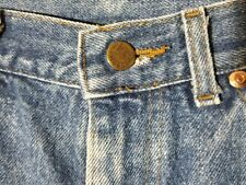 Vintage Mens 34/30 Lee Riders Faded Blue Jeans Union Made in USA