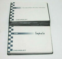 2004 Chevrolet Impala Factory Original Owners Manual Portfolio #5