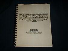 BUCK ROGERS-Sega w/ SCHEMATICS-Orig. Manual-L@@K!