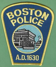 BOSTON MASSACHUSETTS POLICE PATCH