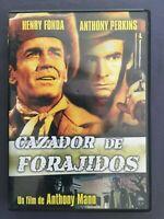 DVD CAZADOR DE FORAJIDOS Henry Fonda Anthony Perkins Betsy Palmer ANTHONY MANN