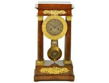 French Empire Style Portico Mantle Clock Lot 262
