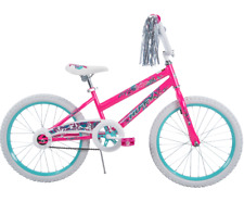 20 Inch Pink Bikes for Girls 7 Year Old Kids Pink Huffy Bicycle Gift for Child