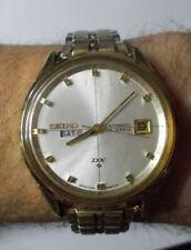Seiko DX sealion 25 jewels men's watch 6106-8040 split date excellent cond rare