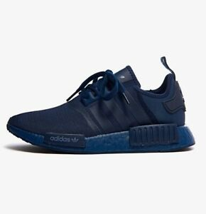 Adidas NMD R1 Boost Men's Athletic Sneaker Navy Trainers Running Shoe Training