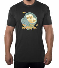 Thankful Baby Owls Funny Men's Shirts, Thanksgiving Day Gift Shirts for Men!