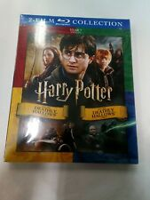 Harry Potter & The Deathly Hallows Part 1 & 2 Year 7 (Blu-Ray) New w/Slipcover