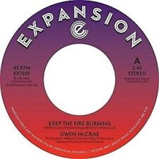 "NEW: 7"" vinyl GWEN McCRAE-Keep The Fire Burning/ Funky Sensation   EX7035"