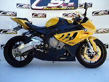 2010-2014 BMW S1000RR CS Racing Full Exhaust + Header + dB Killer Deep Sound
