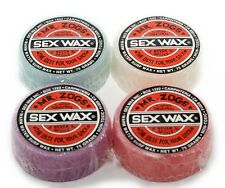 SEX WAX Mr.Zogs Original Red WARM Water Surfwachs Surfbrett Wachs