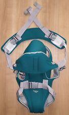 Baby Way Babytrage grün/grau Bauchtrage Rückentrage Tragkraft bis ca. 13 kg NEUw