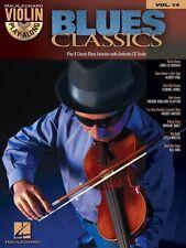 Blues Classics Violin Play-Along Book and CD NEW 000842427