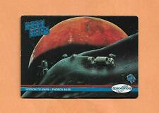 MISSION TO MARS PHOBOS BASE  SPACESHOTS TRADING CARD # 31 1991
