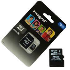 Scheda di memoria Micro SD 16 Gb classe 4 Per Samsung Galaxy S7 Edge