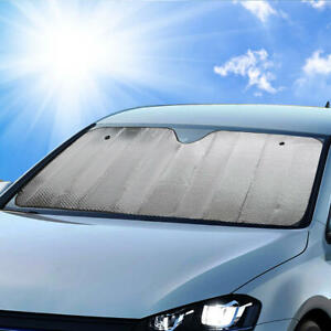 Large Jumbo Foldable Car Auto Sun Shade Visor Front Window Windshield Protection