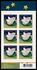 Canada 2242a MNH Booklet Christmas, Bird, Dove