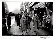 BRIGITTE BARDOT London Shopping Trip, 1959 by LARRY BURROWS. Orig. print & page