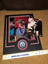 JOHN FLORENCE SIGNED AUTOGRAPHED 8X10 PHOTOGRAPH MATTED 11X14 SURFER-PROOF COA