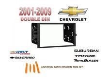 Double DIN Installation Kit for 2001-2009 CHEVROLET SILVERADO TAHOE SUBURBAN