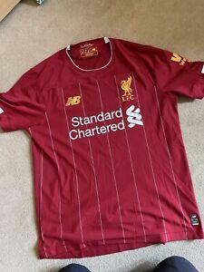 Liverpool FC 2019/20 Home Shirt - Size Medium