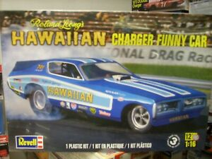 revell roland leongs 1/16 dodge charger factory sealed,(mpc,jo-han,monogram,amt)