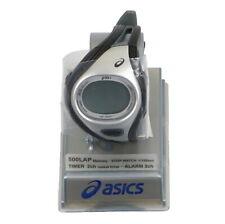 ASICS Challenge Digital Running Watch Adult One Size Black Silver CQAR0301
