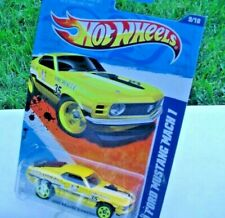 HOT WHEELS: Annapolis Fire Rescue, YELLOW  '70 Ford Mustang Mach 1, NEW!