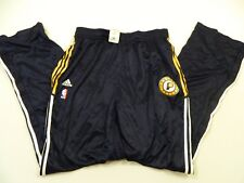M26 ADIDAS Authentic Indiana Pacers On Court Pants MEN'S 5XL Tall + 2