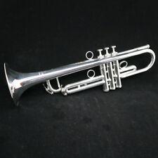 Schagerl JM1X-S James Morrison Signature Trumpet Large Bore in Silver Plate