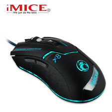 2016 iMice X8 8D 1600DPI 6 Buttons Wired Usb Optical Gaming Mouse LOL CF WOW MMO