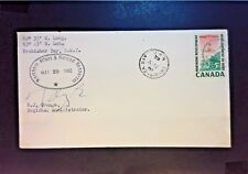 Canada / US 1962 Arctic Operations Cover Reg. Admin Signed - Z950