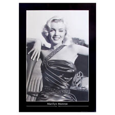 Marilyn Monroe Poster. Model Actress Movie Icon Large Vintage Print Cool Retro
