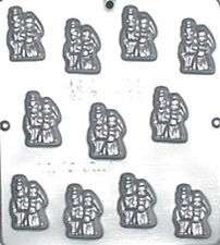 Bride and Groom Chocolate Candy Mold Wedding 638 NEW