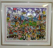 Charles Fazzino Remembering 70's TV 3D Monoprint Signed