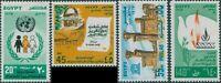 Egypt 1978 SG1365-1368 United Nations Day set MNH