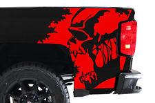 Custom Vinyl Decal Scream Wrap Kit for Chevy Silverado Truck 1500/2500 14-17 RED