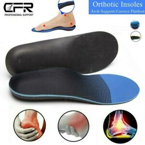 Plantar Fasciitis Arch Support Insoles Shoe Inserts Orthotic Flat Feet Foot Pain