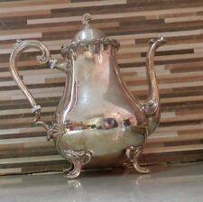 ANTIQUE COLLECTIBLE LEONARD TEAPOT SILVERPLATED  FREE SHIPPING