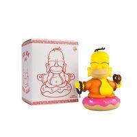 "Kidrobot The Simpsons Homer Buddha 3"" mini figure Worldwide Free S/H"